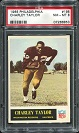 1965 Philadelphia Charley Taylor rookie football card