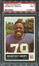 1965 Philadelphia Roosevelt Brown football card