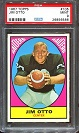 1967 Topps Jim Otto football card