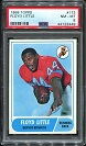 1968 Topps Floyd Little rookie football card