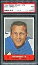 1968 Topps Stand Up Don Meredith football card