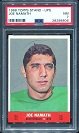 1968 Topps Stand Up Joe Namath football card