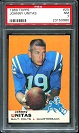 1969 Topps John Unitas football card