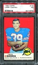 1969 Topps Larry Csonka rookie football card
