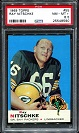 1969 Topps Ray Nitschke football card
