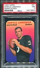 1970 Topps Super Glossy Daryle Lamonica football card