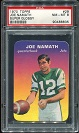 1970 Topps Super Glossy Joe Namath football card