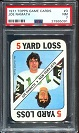 1971 Topps Game Joe Namath football card