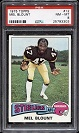 1975 Topps Mel Blount rookie football card
